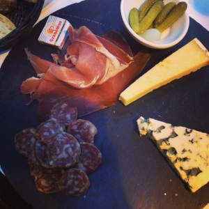 All I need in Paris at mealtime is some bread and some cheese. All day. Every day.