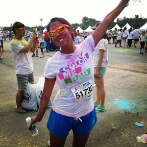 Color Me Rad 5K. Fun to run, less fun to get clean after.